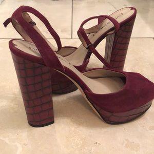 Via Spiga Platform Heels - Size 7.5